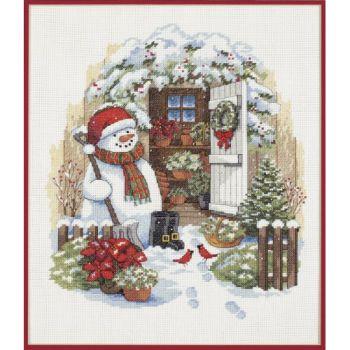 Garden Shed Snowman 8817 / Садовый сарай снеговика