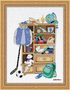 Шкафчик для мальчика 1372