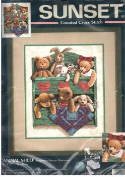 Animal Shelf  13684 / Комод с игрушками