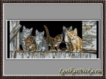 Barnyard Kitties 35133 / Котята на заднем дворе