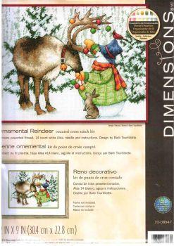 Ornamental Reindeer 70-08947 / Олень в игрушках
