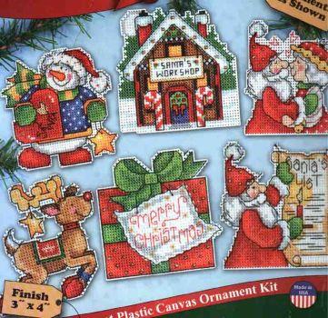 Santa's Workshop Ornaments 1692 / Орнаменты Мастерская Деда Мороза