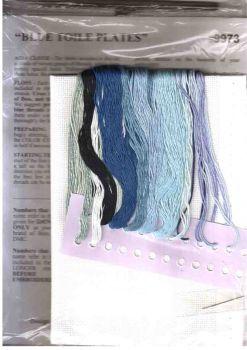 Blue Toile Plates 9973 / Тарелочки в стиле Гжель