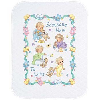 Someone New Baby Quilt 72963 / Детское одеяло Кто-то новый