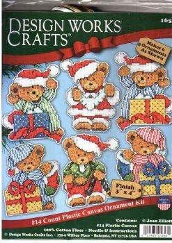 Little Bear Ornaments 1653 / Орнаменты Маленький мишка