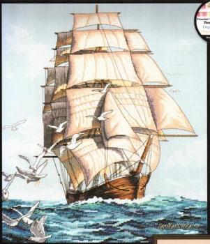Clipper Ship Voyage 03886 / Путешествие Клипера (США)