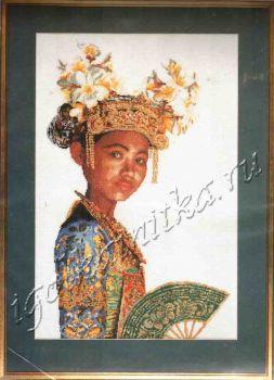 Indonesische danseres 947 / Индонезийская танцовщица