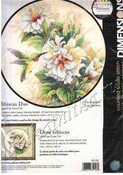 Hibiscus Duo 351560 / Колибри и гибискус