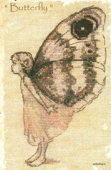 Le Papillon ( Butterfly ) 55-A033 K / Бабочка