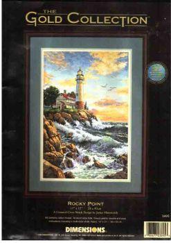 Rocky Point 03895 / Маяк на скале (США)