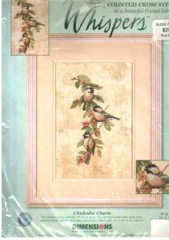 Chickadee Charm 35045 / Очаровательные синички