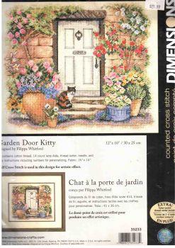Garden Door Kitty 35233 / В саду у двери
