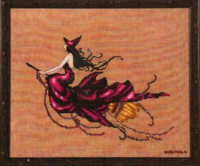 Eva, Bewitching Pixies NC-224 / Ведьмочка Ева