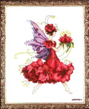 Geranium Pixie Blossoms Collection NC-198 / Фея Герань