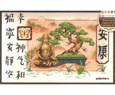 Bonsai and Buddha 35085 / Бонсай и Будда