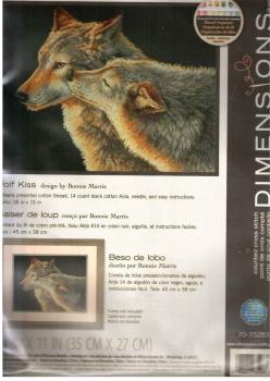 Wolf Kiss 70-35283 / Целующиеся волки