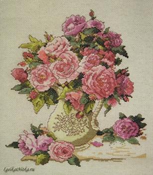 China Roses 2724 / Китайские розы