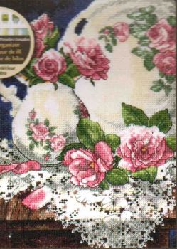 Lace and Roses 6929 / Розы и кружева
