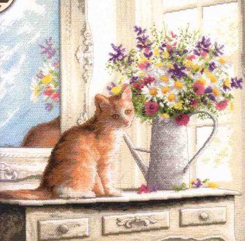 Kitten in the Window 70-35359 / Котёнок в окошке