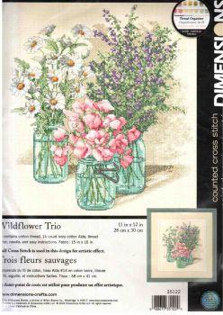 Wildflower Trio 35122 / Трио полевых цветов