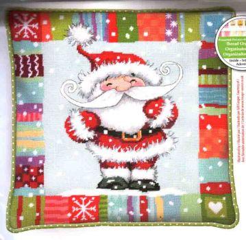 Patterned Santa 71-09157 / Санта с узорами