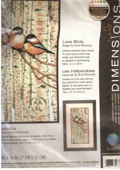 Love Birds 70-35277 / Влюбленные птички