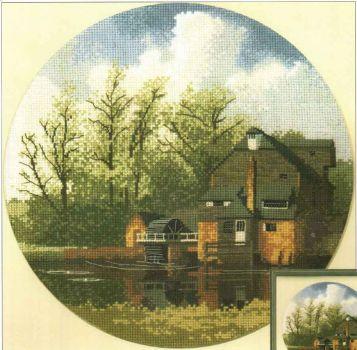 Watermill JCWM369 / Водяная мельница