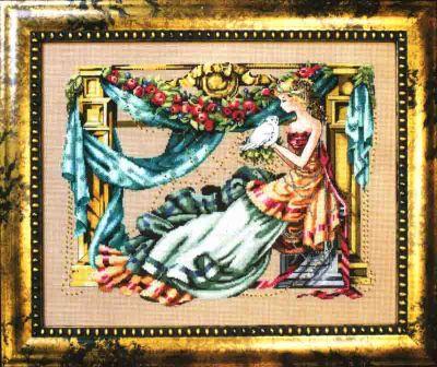 Athena( Goddess of Wisdom) MD-97 / Афина ( богиня мудрости) (схема)