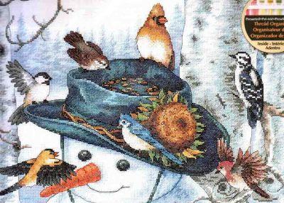 Sunflower Snowman 35137 / Подсолнух и Снеговик