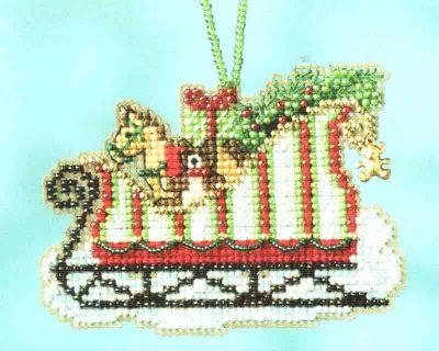 Toyland Sleigh MH16-1733 / Сани с игрушками