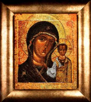 Holy Virgin of Kazan 477 / Образ Казанской Божьей матери