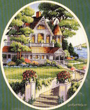 Lovely Victorian Home 03874 / Милый викторианский дом