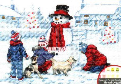 Bulding A Snowman 70-08993 / Лепим снеговика