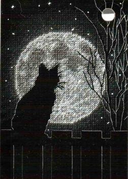 Black Moon Cat 70-65212 / Черная лунная кошка