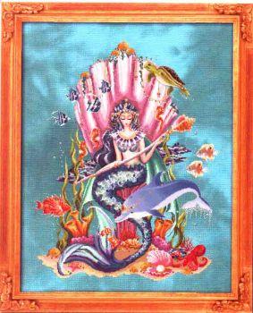 Amphitrite, Queen Goddess Of the Sea / Амфитрита, Королева-Богиня Моря (схема)