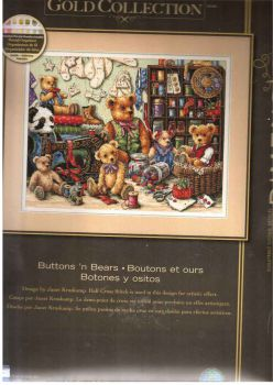 Buttons and Bears 35151 / Пуговицы и мишки