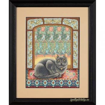 Cat in Window 35226 / Кошка на окошке