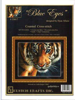 Blue Eyes 35017 / Голубоглазый тигр