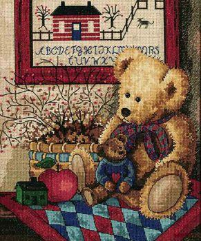 Antique Teddies 7964 / Старые мишки