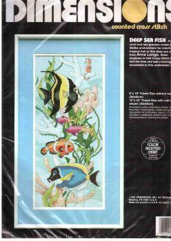 Deep Sea Fish 3705 / Глубоководные рыбы