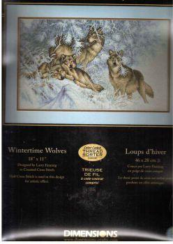Wintertime Wolves 35227 / Волки зимой