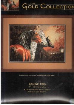 Equine Trio 35091 / Трио лошадей