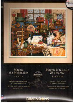 Maggie The Messmaker 3884 / Кошка Мэгги