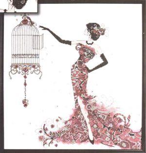 Bird Cage 2754 / Птичья клетка