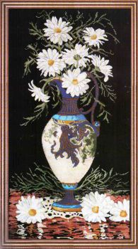 Daisies in Vase 2782 / Ромашки в Вазе