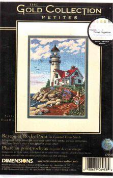 Beacon at Rocky Point 6958 / Маяк на Скалистом Мысе