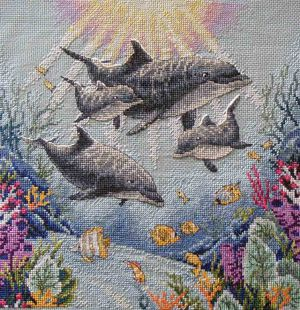 Dolphin Morning 35186 / Утро Дельфинов