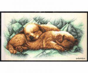 Peaceful Puppies 352150 / Спящие щенки