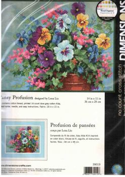 Pansy Profusion 39019 / Анюткины глазки