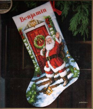 Welcome Santa Stocking 70-08901 / Сапожок Добро Пожаловать Санта